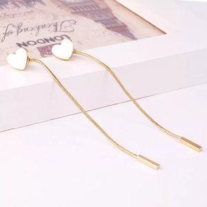 5 for $25 Double Sided Heart Earrings